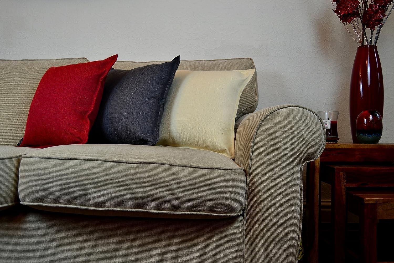 McAlister Textiles Essentials Essentials Essentials Kollektion   Extragroßes Savannah Zierkissen mit Füllung Jacquard-Gewebe   60 x 60cm in Salbeigrün   Schlichtes Deko Kissen für Sofa, Couch, Bett, Sessel B07BWFCZC2 Zierkissenbezüge fdafae