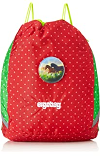 ERGOBAG Horse LovBear Schulrucksack, 40 cm, 19 L, Red Dots