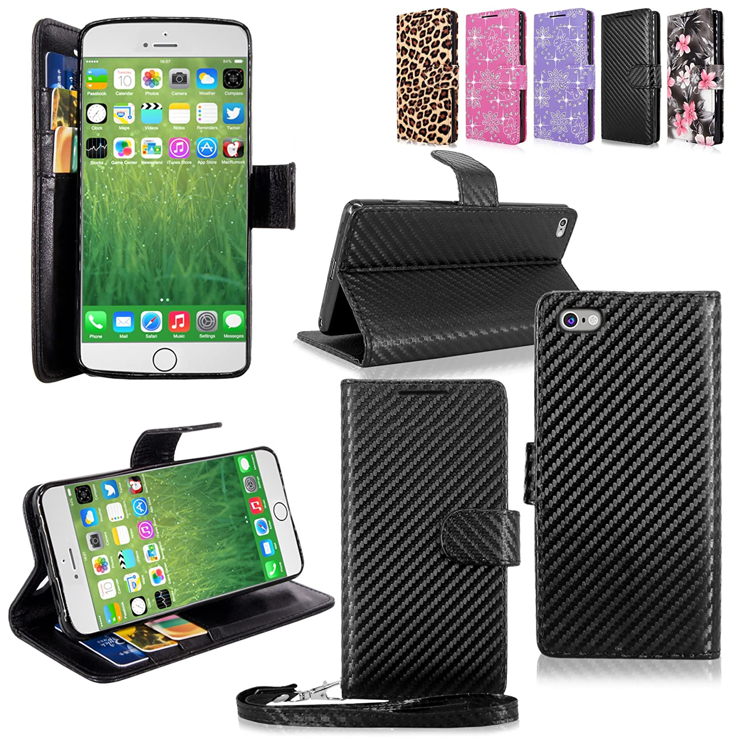 iPhone Cellularvilla Wallet Premium Leather Image 1