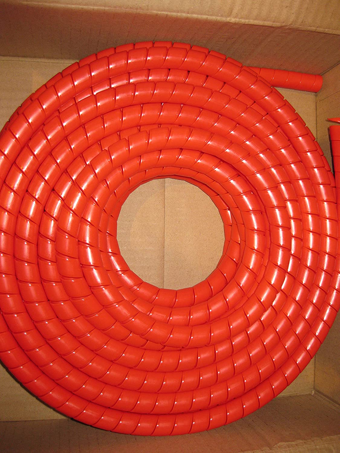 Hydraulic Hose Spiral Wrap Guard Potection 18-24mm JCB Forestry Tractor Digger 20 Meter