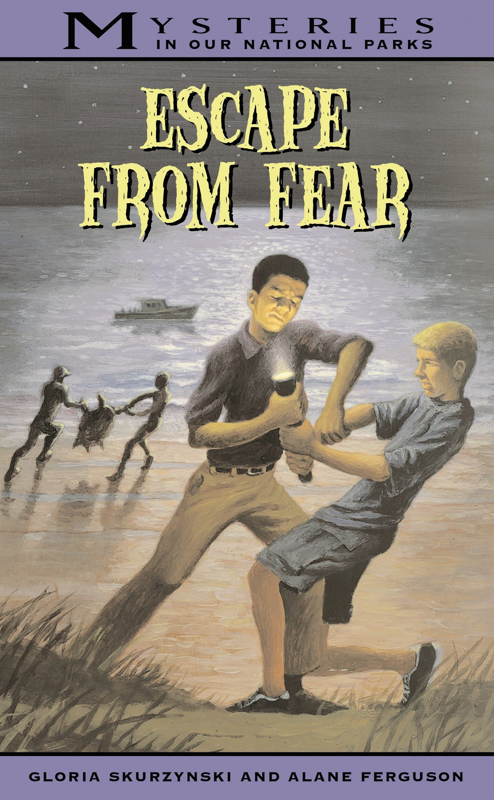 Read Online Escape From Fear (Mysteries in Our National Parks, #9) pdf epub