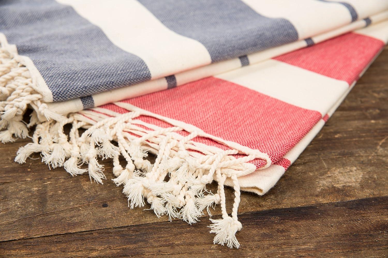 cottoncloudco Mykonos turco toalla de playa, baño, algodón natural (67