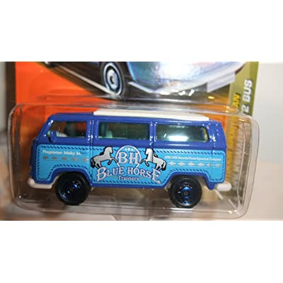 MATCHBOX 2011 BH BLUE HORSE TRAINERS OUTDOOR SPORTSMAN VOLKSWAGEN T2 BUS: Toys & Games