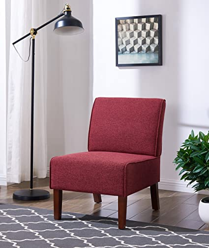 Amazon.com: IDS Online MLM-18752-R Armless Accent Chair ...