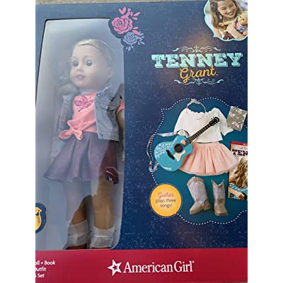 Tenney Grant Doll + Book Including Spotlight Outfit, Guitar and Accessories Set: Toys & Games