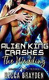 Alien King Crashes the Wedding (Lumerian Knights Book 1) (English Edition)