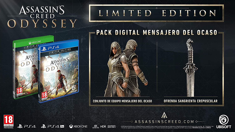 Amazoncom Assassins Creed Odyssey Limited Edition