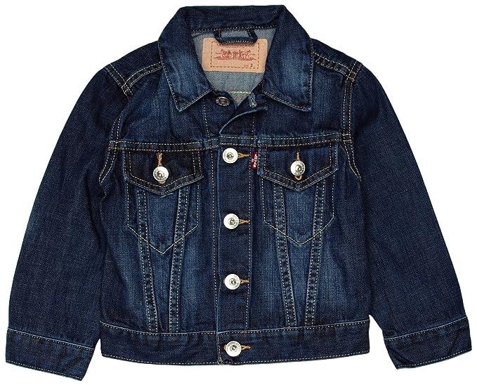 Levis Jacket N94009A, Chaqueta para Niños, Blau (Indigo), 170 (16