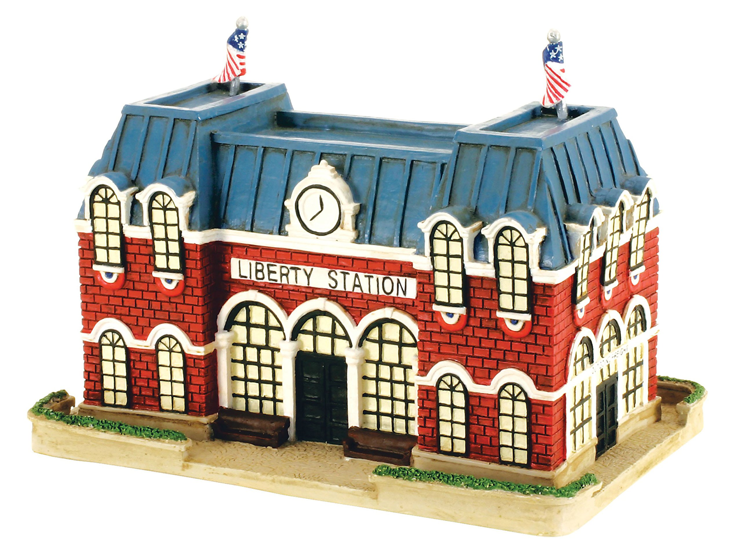 Micro-Trains Liberty Town USA Patriotic Indoor Decor Set of 9 Buildings