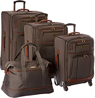 Tommy Bahama Lightweight Luggage Set - 4 Piece Suitcase Set with Spinner Wheels - 28 Inch