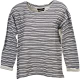 Teddy smith - Sanalee noir chine pull l - Pull fin