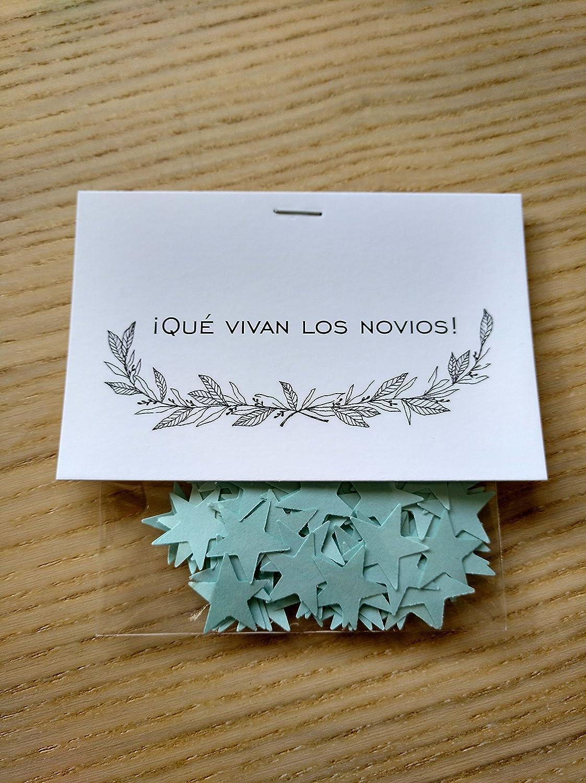 Bolsas de confeti modelo stars para boda (Pack de 20 ...