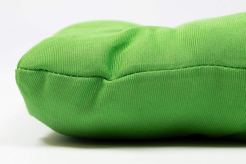38x38x6 cm en Otros Colores Verde ZOLLNER 4 mullidos Cojines para Silla
