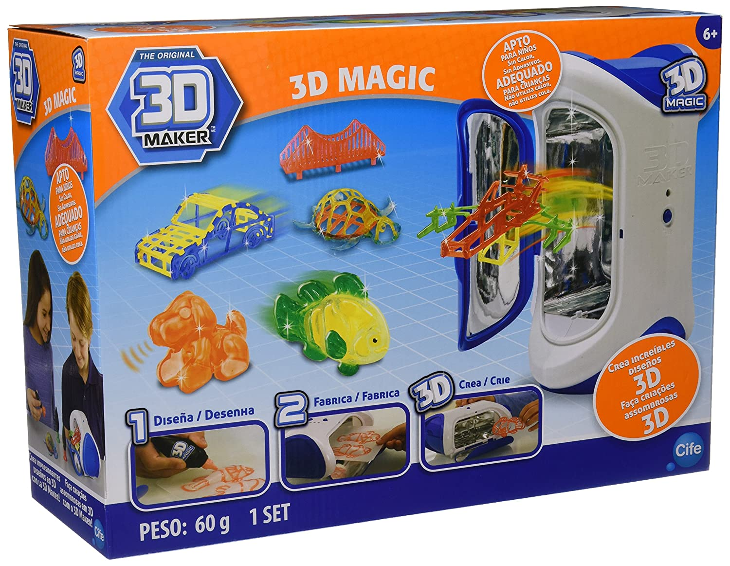 Amazon.com: Cife Irwin RX Ltd 40104 – Printer – Magic 3D ...