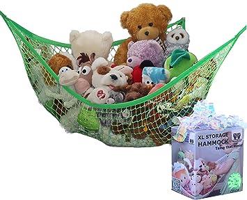 "Animals Organize Storage Corner Stuffed Kids Toys Hammock Net 31/"" x 24/"" x 24/"""