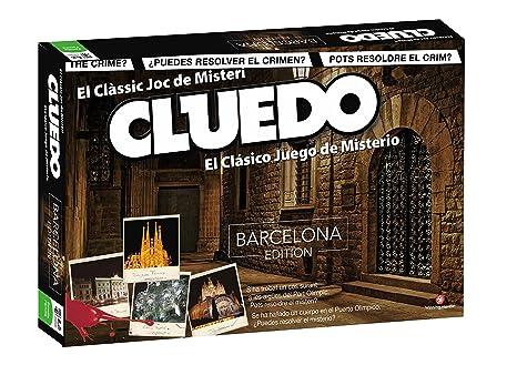 Eleven Force - Cluedo, edición Barcelona (82233): Amazon.es: Juguetes y juegos