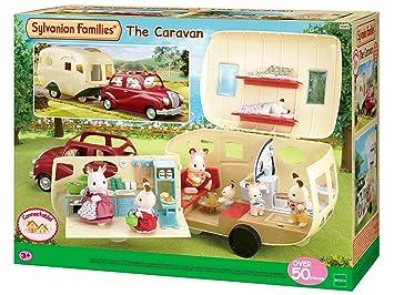 Sylvanian Families 5045 Caravane Poupées Et Accessoires