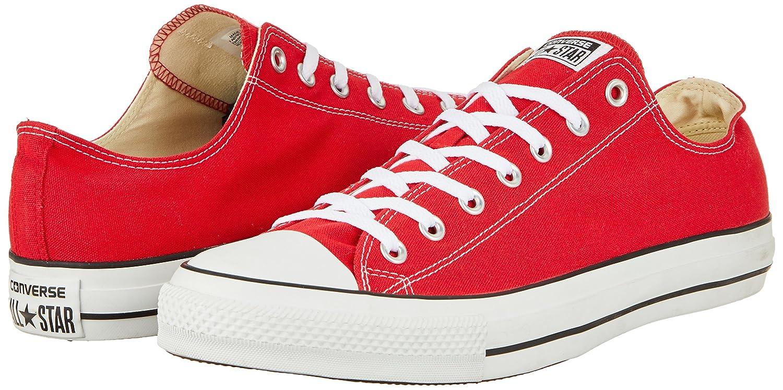 Converse Chuck Taylor All Star Core Ox B01M58N74J 7.5 B(M) US Women / 5.5 D(M) US Men|Red