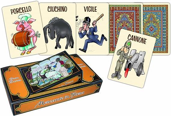 Modiano Mercante in Fiera Gran Bazar - Baraja de Cartas (versión en Italiano): Amazon.es: Juguetes y juegos