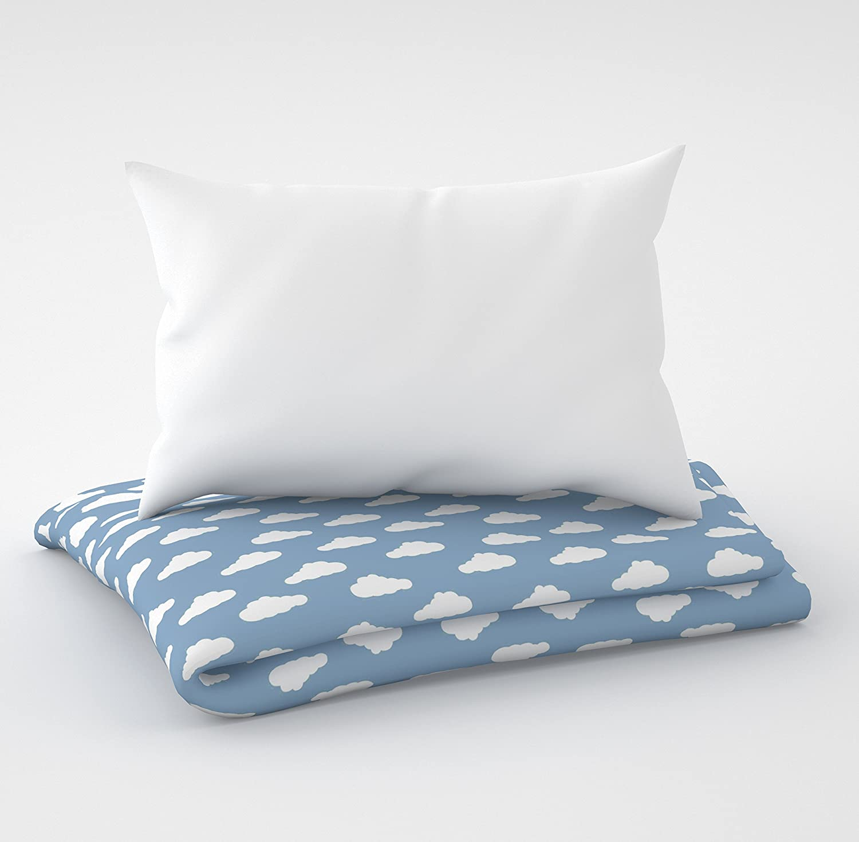 fundas para la cuna de 60 x 120 cm Ropa de cama para cuna y coj/ín Seis cojines de terciopelo