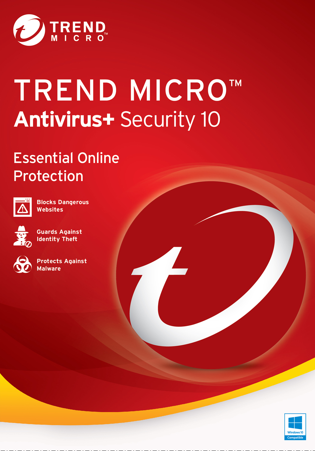 Trend Micro Antivirus+ 10 1 User [Download] (Trend Download Micro)