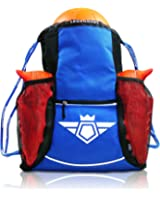 Soccer Bag Backpack - XL Capacity for Youth & Kids, Heavy Duty, Organize All Sports Gym Equipment - Boys & Girls Sack Pack