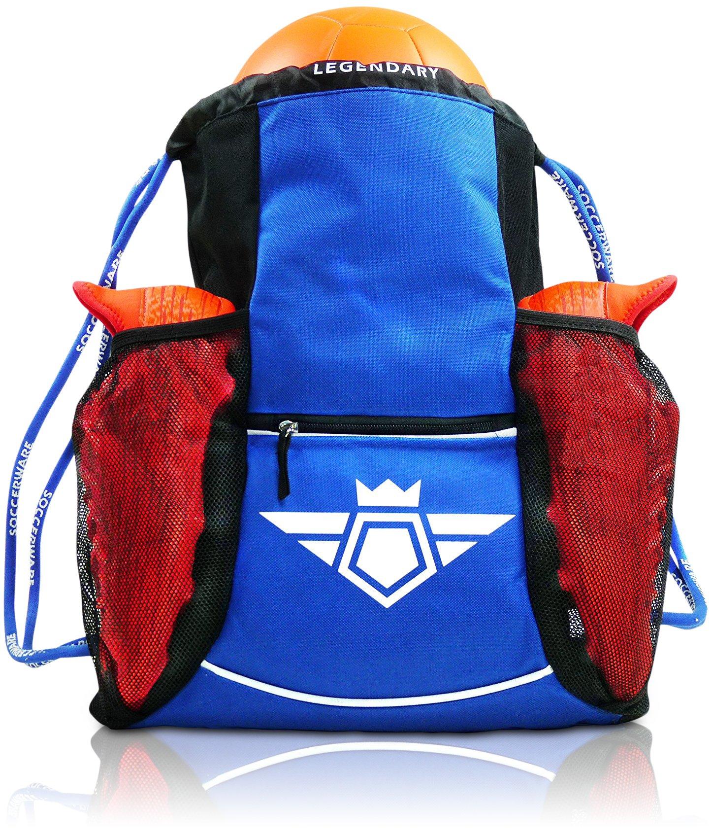 Soccer Bag Backpack - Organize Sports Gym Equipment - Boys Girls product  image 670ed296adcd3