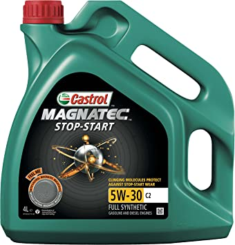 Castrol Magnatec 5w 30 C2 Stop Start Engine Oil 4l Auto