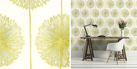 Dandelion Wallpaper Amazoncouk DIY Tools