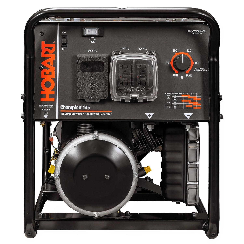 Amazon Hobart Champion 145 Welder Generator 10 HP 4