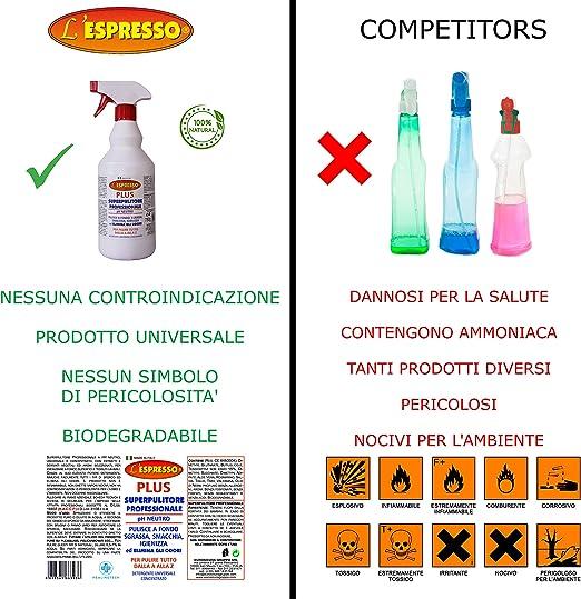 LEspresso - Detergente natural universal, 100% fabricado en ...