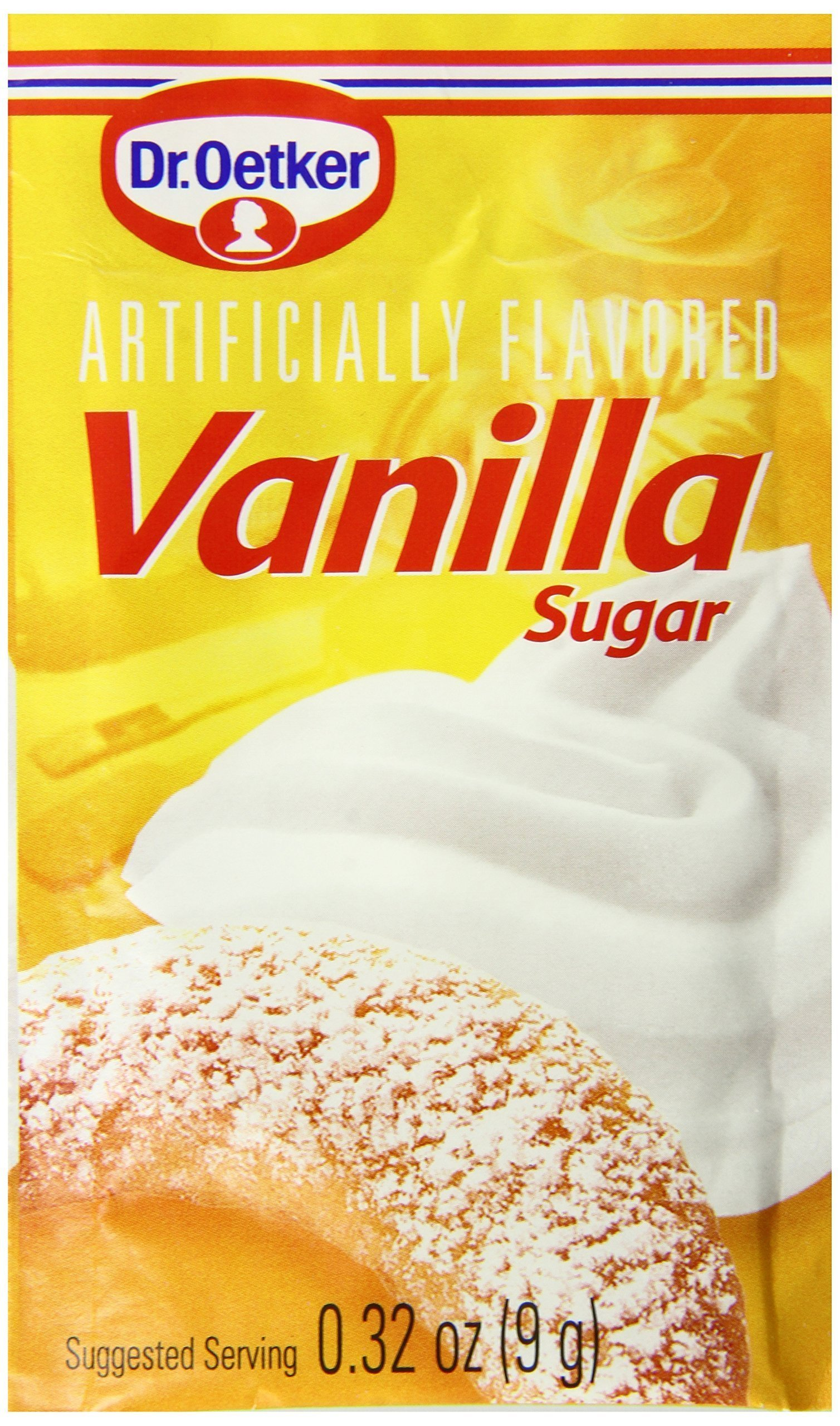 Dr. Oetker Vanilla Sugar, .32 oz., 12 Count