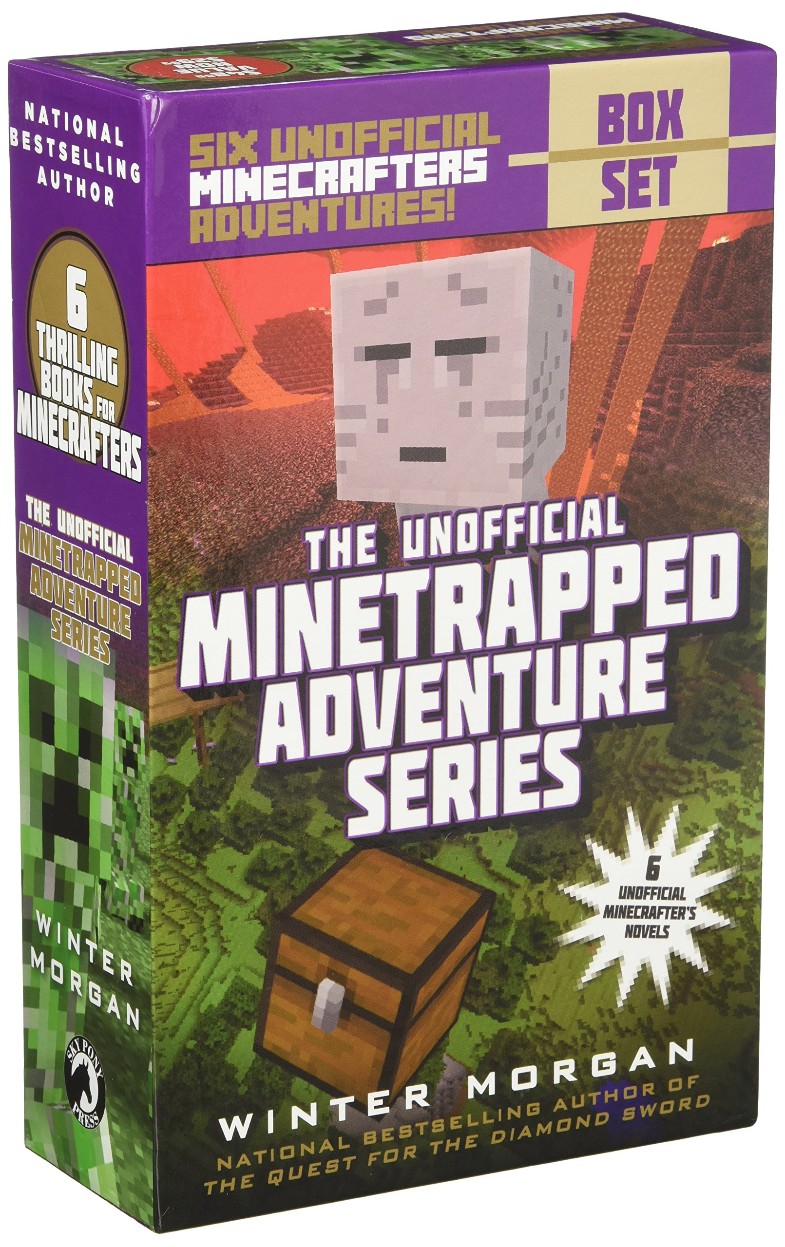 An Unofficial Minetrapped Adventure Series Box Set: Six Unofficial Minecrafters Adventures! by Sky Pony Press (Image #2)