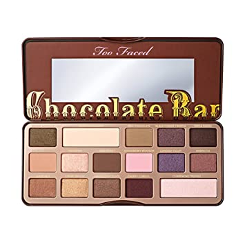 Too Faced Semi Sweet Chocolate Bar Lidschattenpalette Amazon De Beauty