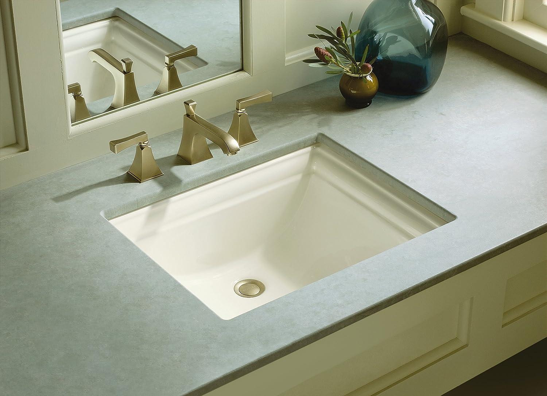 KOHLER K-2339-0 Memoirs Undercounter Bathroom Sink, White - Bathroom ...