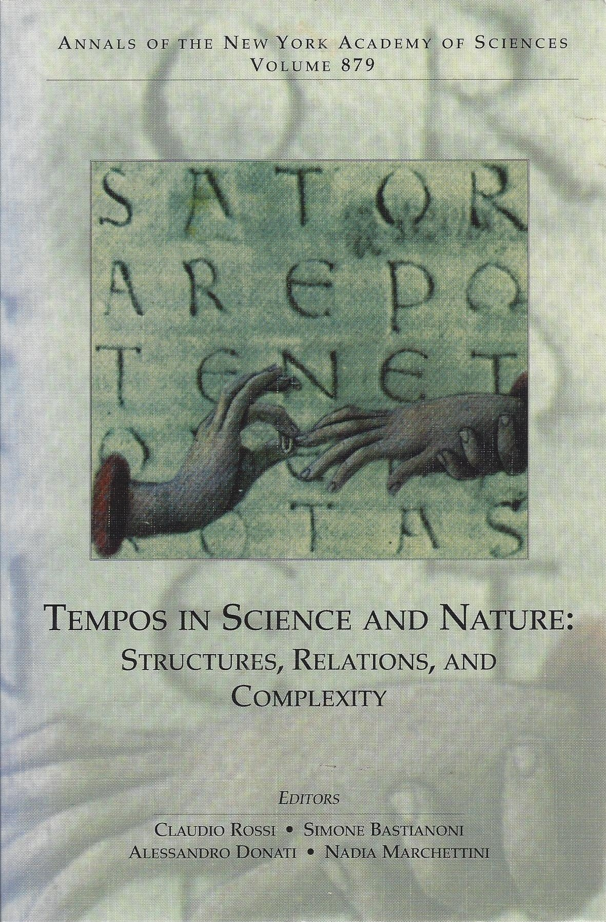 Tempos in Science and Nature: Structures, Relations, and Complexity (Annals of the New York Academy of Sciences) pdf