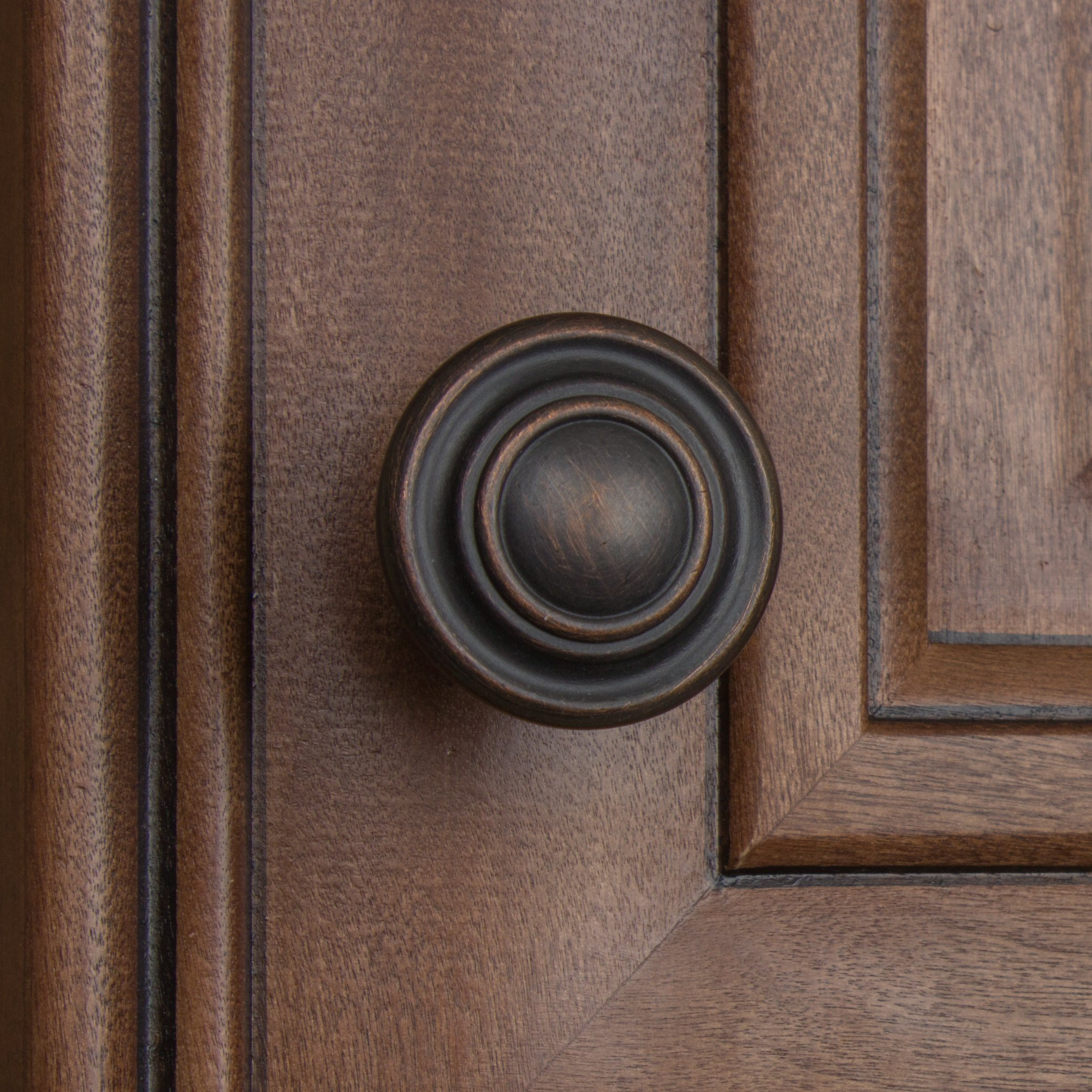GlideRite Hardware 5415-ORB-25 1.25 inch Diameter Classic Round Ring Oil Rubbed Bronze Cabinet Knobs 25 Pack by GlideRite Hardware (Image #5)