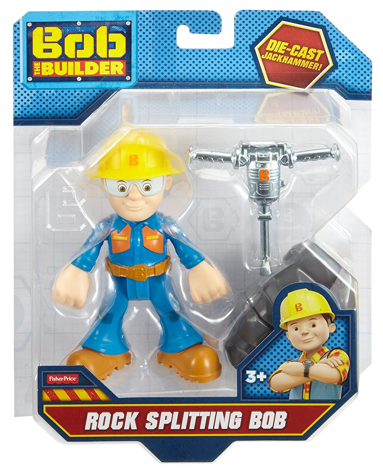 Rock Splitting Bob Fisher Price DMM48 Fisher-Price Bob The Builder