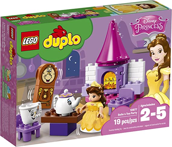Amazon.com: LEGO DUPLO Disney Belle Tea Party 10877 bloques ...