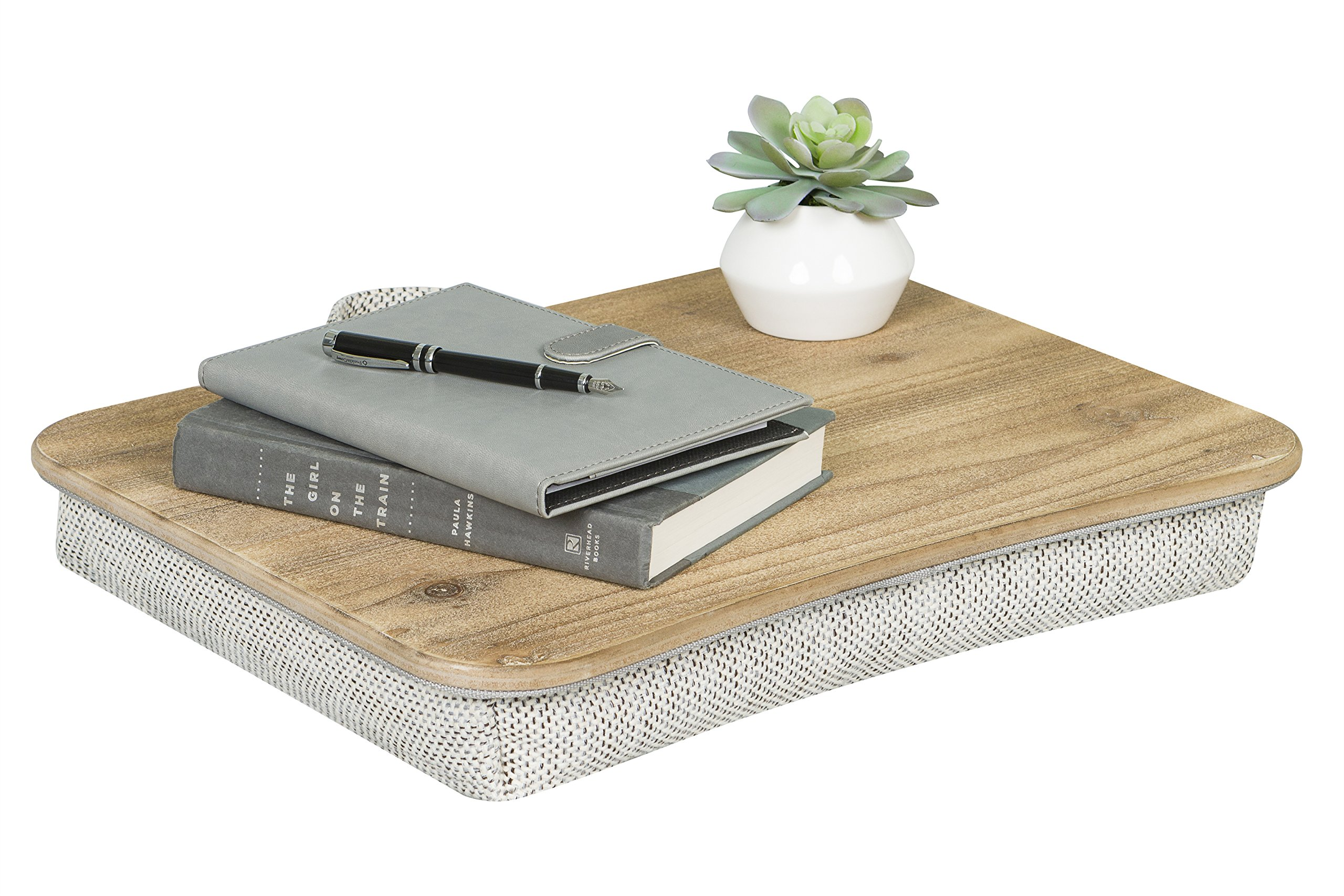 LapGear Heritage Lap Desk - Rustic Brown by Lap Desk