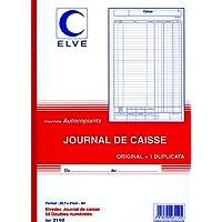 ELVE 22957 Manifold Autocopiant A4 2 10x297mm Foliotage 50 Duplis Livraisons Caisse Assorties