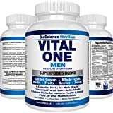 VITAL ONE Multivitamin for Men – Daily Wholefood Supplement - 150 Vegan Capsules – BioScience Nutrition