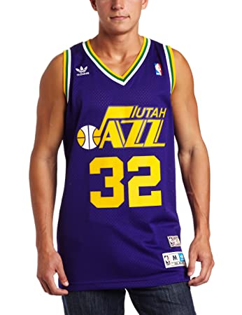 ... NBA Utah Jazz Karl Malone Swingman Jersey Purple 55e6d8f0a