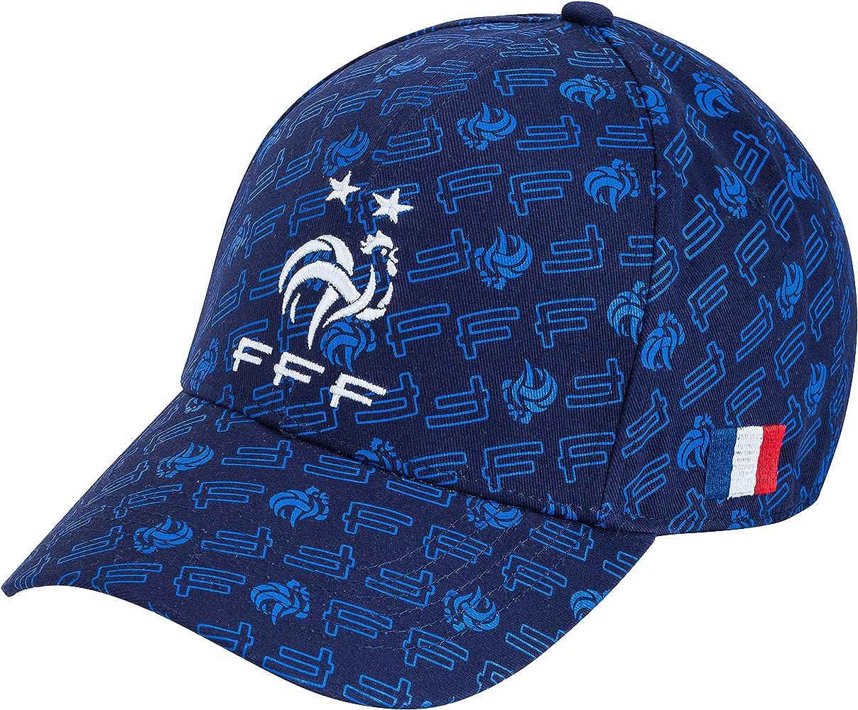 Gorra de FRANCE de Fútbol FFF, 2 estrellas, colección oficial, talla ajustable: Amazon.es: Ropa y accesorios