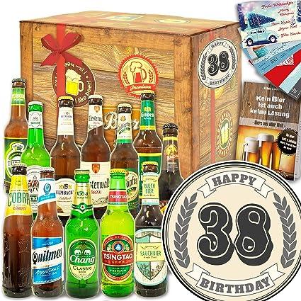 Geschenke Zum 38 Bier Paket Welt Und De Geschenke Zum