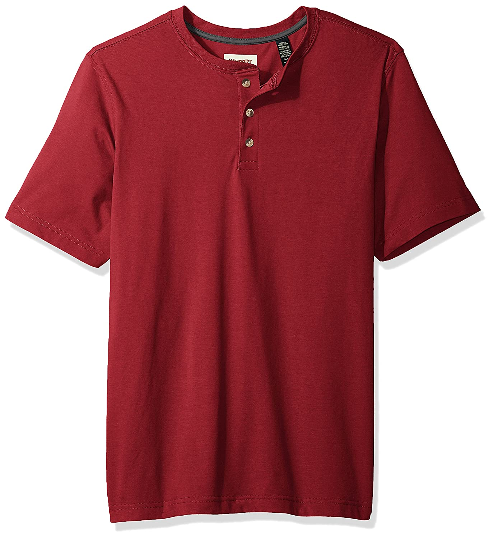 Wrangler Authentics Men's Short Sleeve Henley Tee Shirt