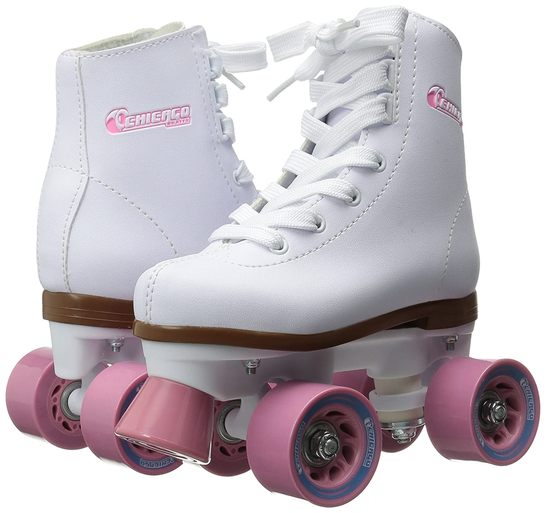Quad roller skates amazon - Amazon Com Chicago Girl S Rink Skates Childrens Roller Skates Sports Outdoors