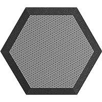 Hexagonal Espuma pared paneles 1, Gris, 12 inch