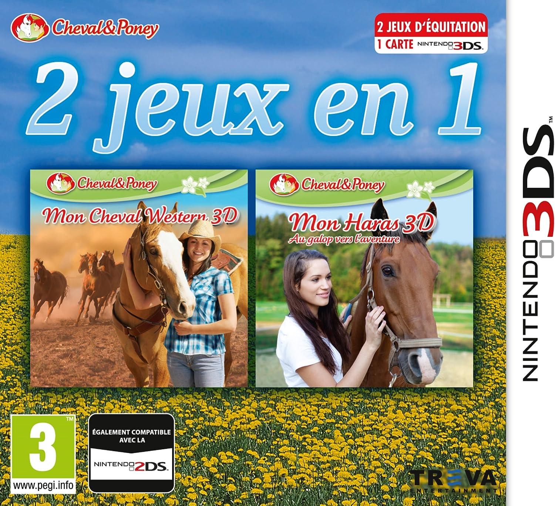 2 jeux en 1: Mon cheval Western + Mon Haras 3D : Au Galop Vers L ...