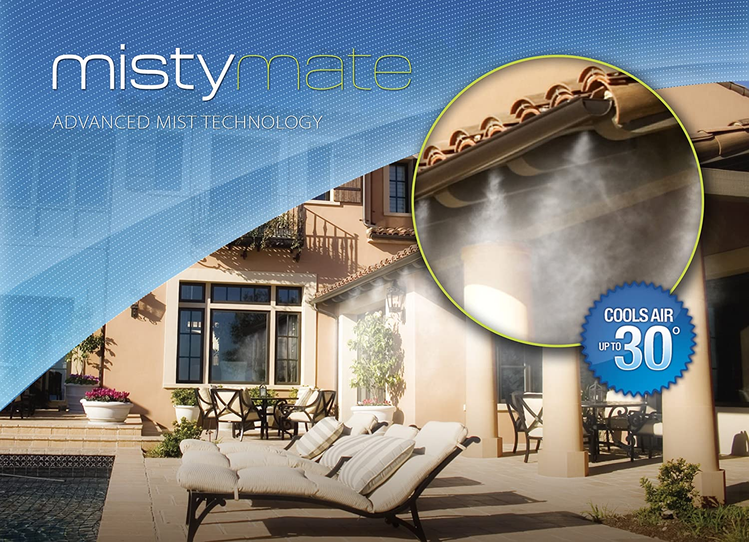 Incroyable Amazon.com: MistyMate 16030 Cool Patio 30 Outdoor Misting Kit: Garden U0026  Outdoor